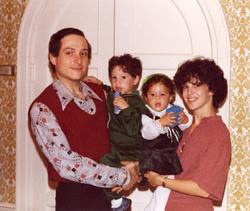 Avram, Rhoda, Jonathan, and Arielle.